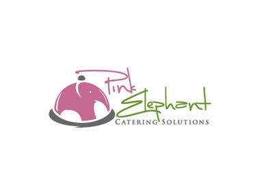 Logo for pink elephant