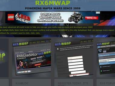 RX6MWAP Website