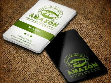 Logo And Business Card for an African Politician