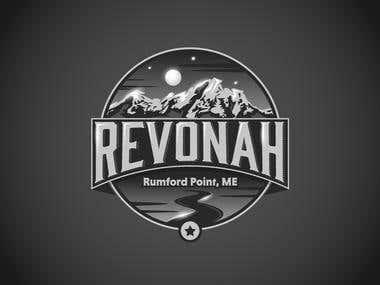 Logo of a Revonah Distillery