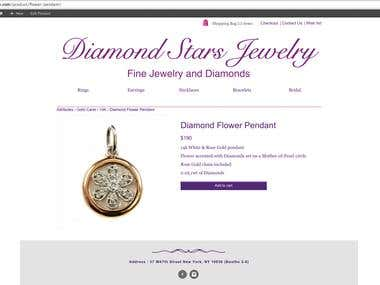 www.diamondstarsny.com(Woocommerce Website)