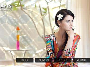 A photography website ( www.kunalarts.com )