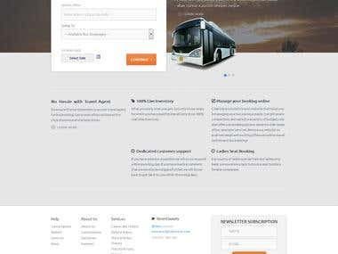 Bus  and ferry booking website