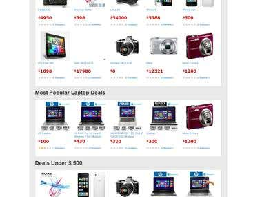 Ecommerce website like flipcart