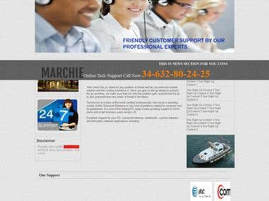 call centre website