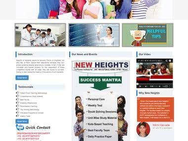 Website for Education institute