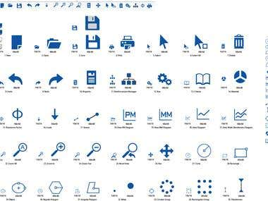 Icons for Structure Express