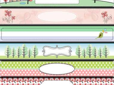 etsy banner templates