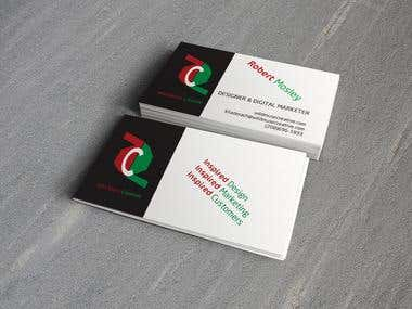 Business Card for Design Firm