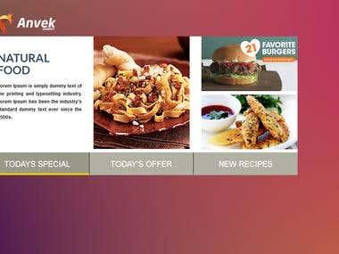Hotel/Restaurant App