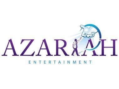 Logo design for Azariah Entertainment