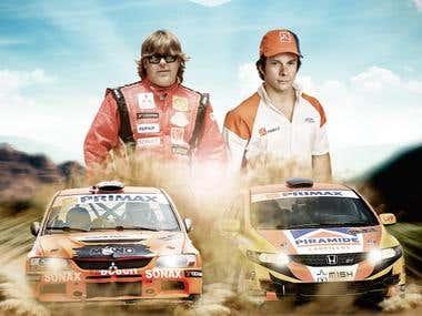 Afiche Team Primax