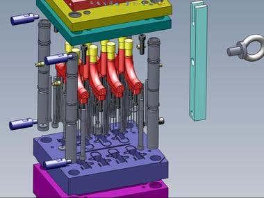 Molding tools design