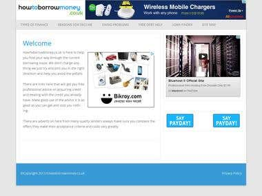 WordPress Child Theme html5