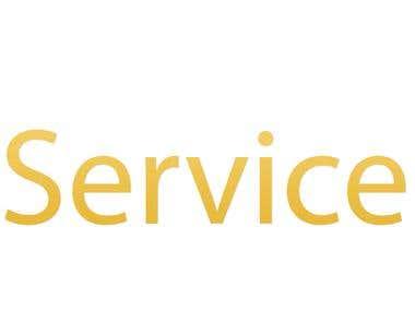 Logo design for theserviceonline.com