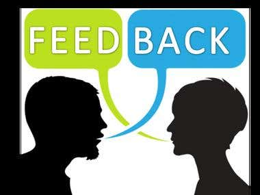 Live Feedback of customers and complaint generations.