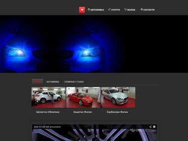 Web-site JOOMLA (PHP)