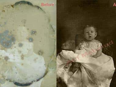 Old image editing