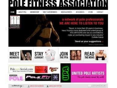 Membership Website for Fitness Club Using Joomla