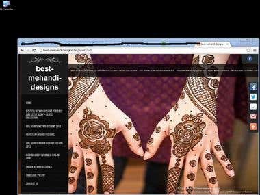 Best Mehand designs