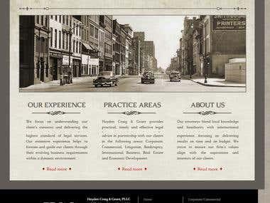 Joomla CMS Website