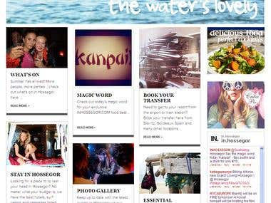 Bilingual Joomla Website for posting Various Articles