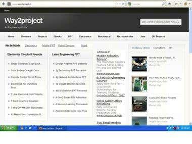 www.way2project.in engineering portal