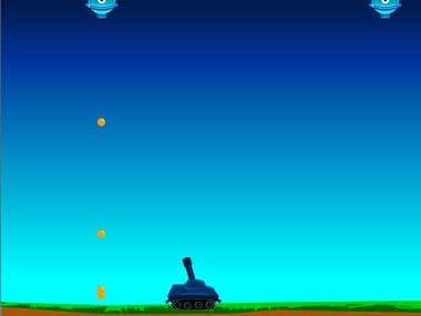 A Shooting game (Tank attack)