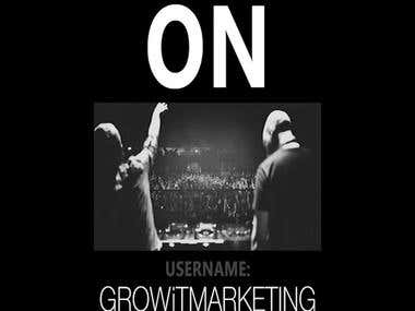 Competition Giveaway Vine for Grow It Marketing