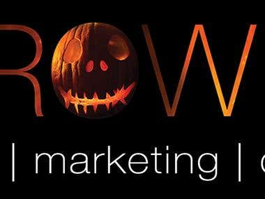 Grow It Marketing Halloween Logo