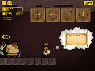 Educational Game(adventure of little tonmoy)