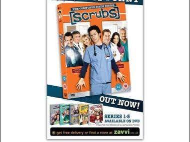 Scrubs - Tagline for TV boxset advert