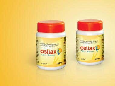 Osilax packaging