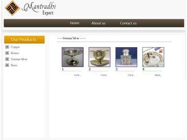 Mantrathi Export company