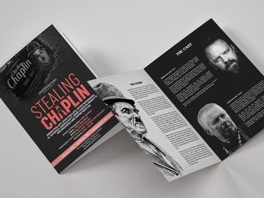 Film Brochure for Stealing Chaplin