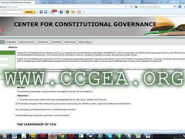 Center for Constitutional Governance, East Africa