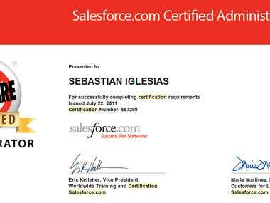 Salesforce.com Certified Administrator