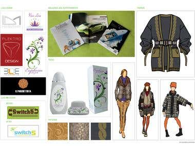 Logos, Magazine, Fashion, Packaging
