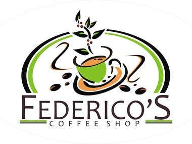 Coffe Shop logo Sample