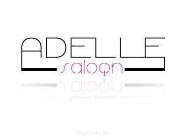 Adelle Saloon [logo design]
