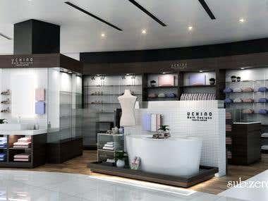 3D Interior Commercial Design