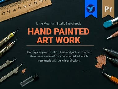 Little Mountain Studio Sketchbook #1