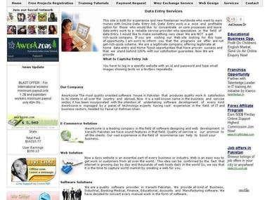 Aworkzone Web Design