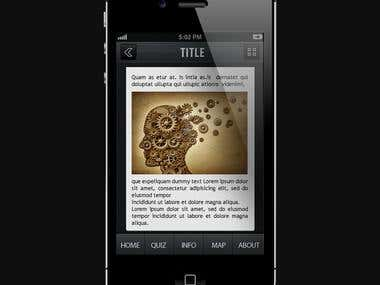 PSYCHOLOGY MOBILE APP DESIGN