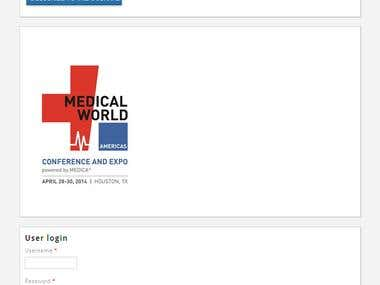 Website for Medical Article listings