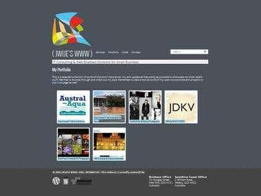 jWije Personal Website
