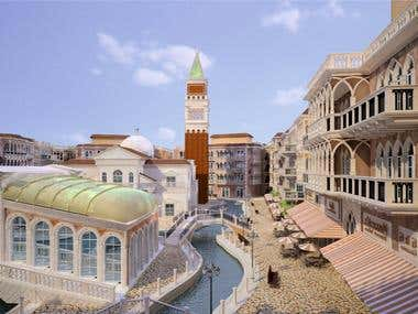 Facade design Based on City of Venice building