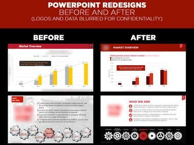 Powerpoint / Presentation Redesign
