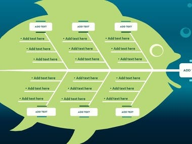 Fishbone Diagram Design with PowerPoint