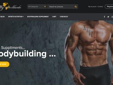 WordPress eCommerce website Elementor